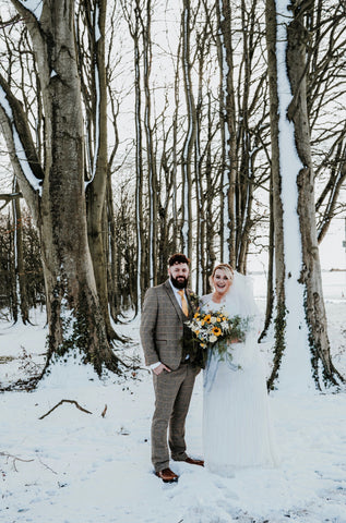Winter Wedding Snow