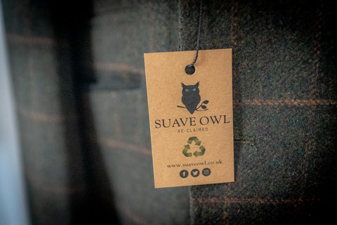 SUAVE OWL recycling campaign exchanging suits for store credit