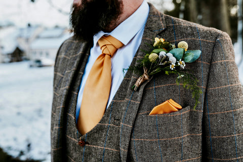 Knightsbridge Tie & Pocket Square Wedding