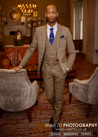 Marc Darcy Ted Tweed Suit