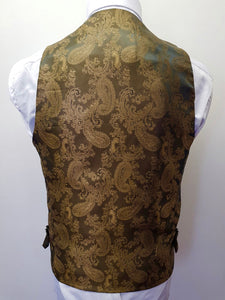 Marc Darcy Ted Tweed Waistcoat Single Breasted