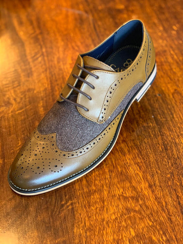 Horatio Brogue Tan