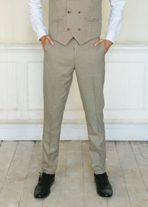 Cavani Elwood Houndstooth Checked Trousers