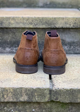 Load image into Gallery viewer, Curtis Brogue Boot Tan