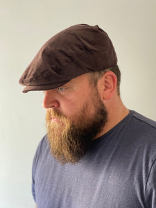 Flat Cap Corduroy Brown