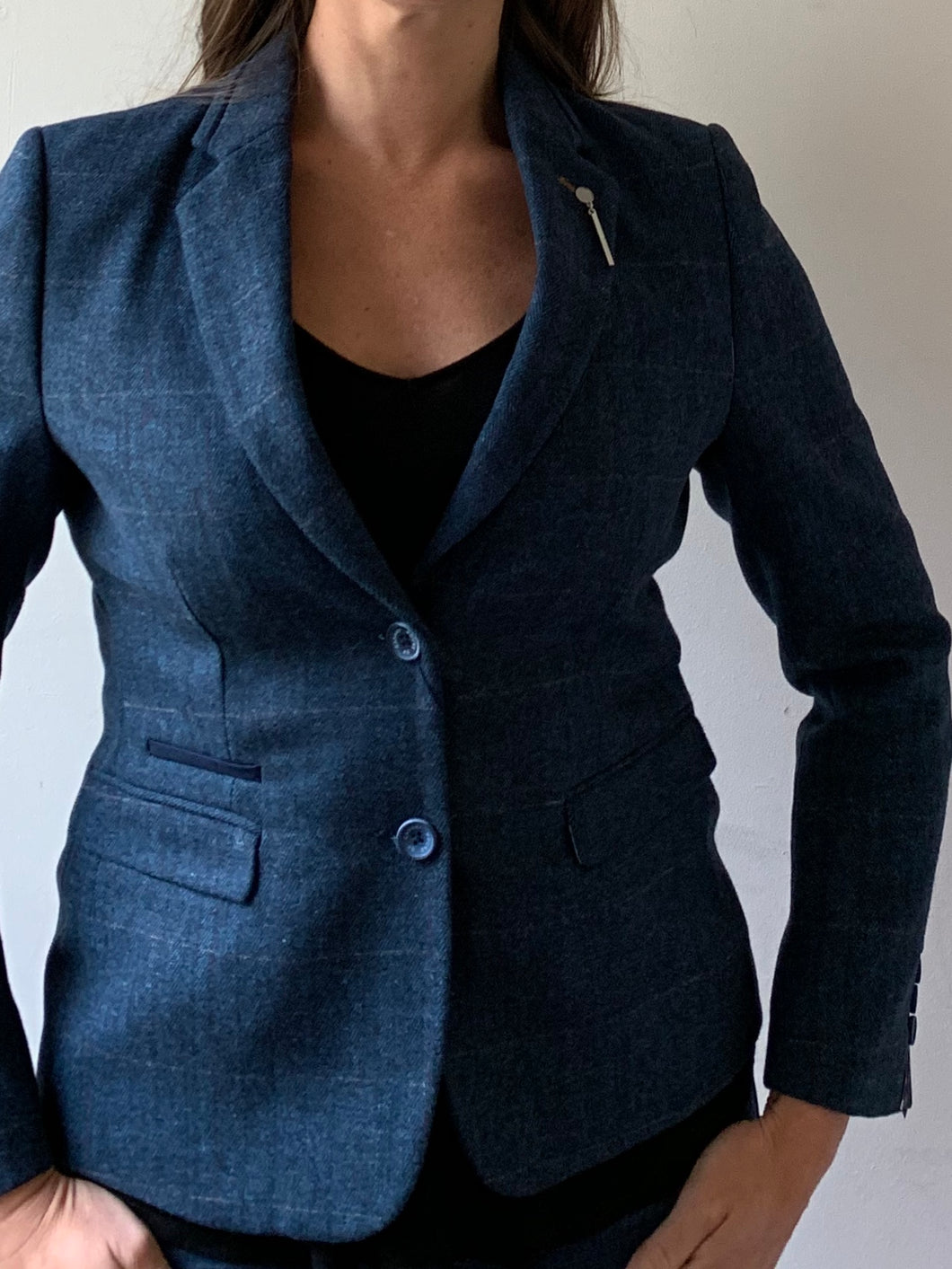 Ladies Carnegi Tweed Blazer