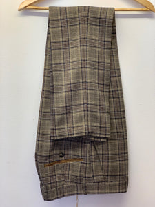 Marc Darcy Enzo Checked Trousers