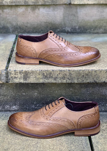 London Brogue Tan