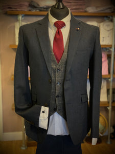 Cavani Martez Navy Tweed Jacket