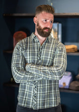 Load image into Gallery viewer, Lumberjack Checked Shirt Grey
