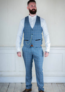 Marc Darcy Harry Tweed 2-Piece Suit