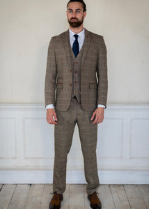 Marc Darcy Ted Tweed 3-Piece Suit