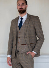 Load image into Gallery viewer, Marc Darcy Ted Tweed Jacket & Waistcoat