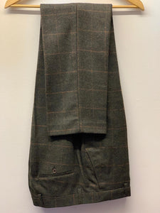Cavani Kemson Olive Tweed Trousers