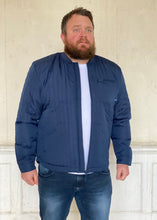 Load image into Gallery viewer, Quilted Jacket Petrol Blue