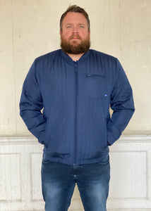 Quilted Jacket Petrol Blue