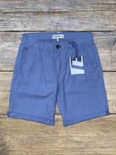 Load image into Gallery viewer, Woven Linen Blend Shorts Coral Blue