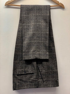 Marc Darcy Scott Grey Tweed Trousers