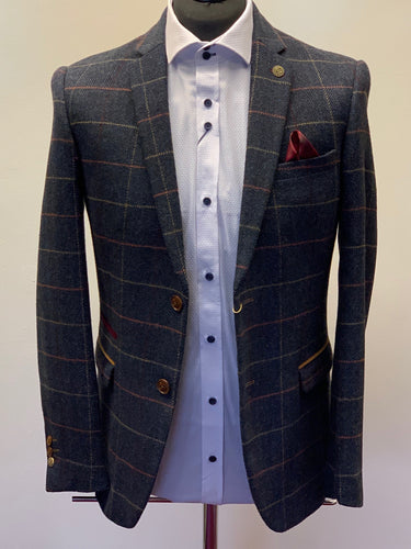 Marc Darcy Eton Tweed Check Jacket