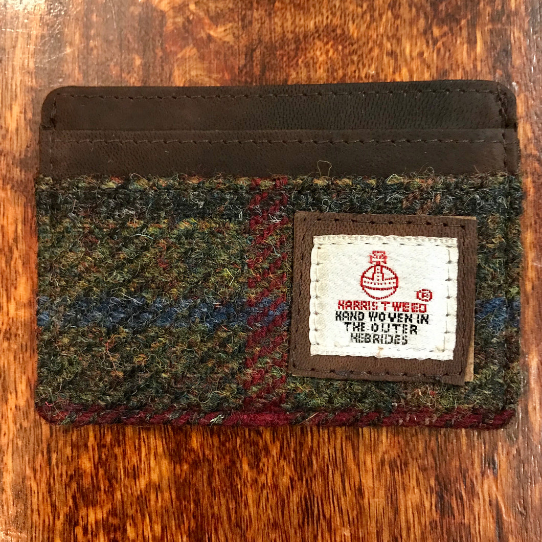 Harris Tweed Breanais Credit Card Holder