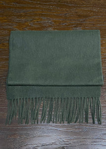 Lambswool Scarf Forest Green