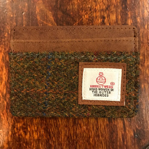 Harris Tweed Stornoway Credit Card Holder
