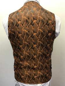 Marc Darcy Jenson Checked Double Breasted Waistcoat