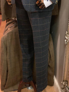 Marc Darcy Eton Tweed Check Trousers
