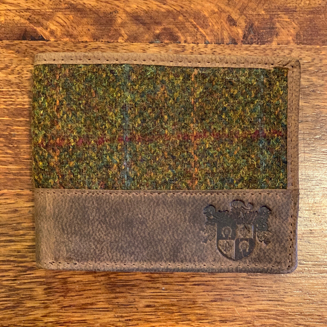 Harris Tweed Stornoway Wallet