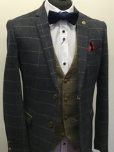 Load image into Gallery viewer, Marc Darcy Eton Tweed Check Jacket