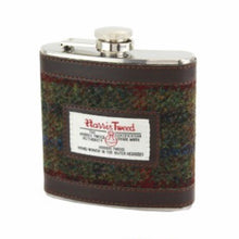 Harris Tweed Breanais Hip Flask