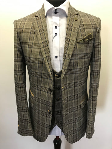 Marc Darcy Enzo Checked Jacket