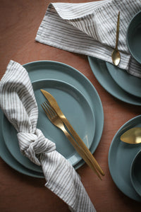 Napkin set / Striped