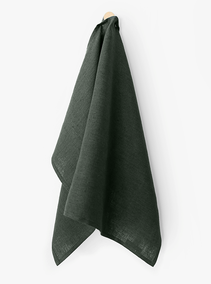 Tea towel / Forest green