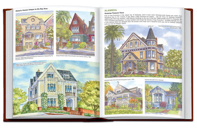 Hand Painted Homes: An Artist's Pen & Watercolor Journey Across America
