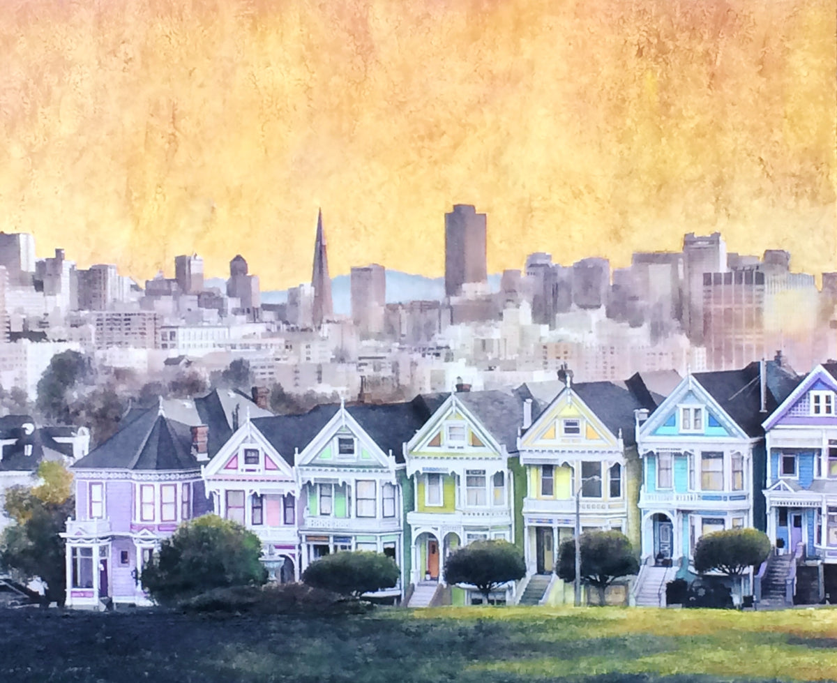 The Painted Ladies of San Franciso