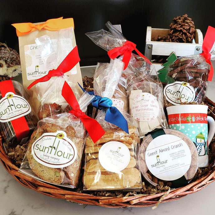 Holiday Gift Baskets Now Available // Christmas 2019