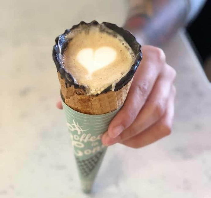 Featured Product: Coffee in a Cone