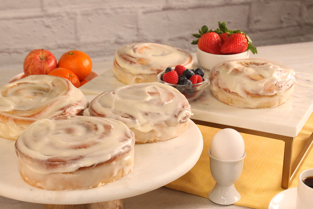 Cinnamon Rolls by Sunflour Baking Company