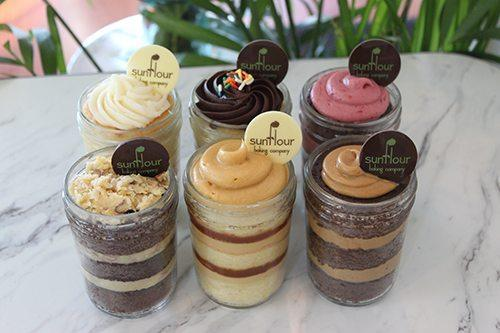 Eleven Pack of Cake Jars by Sunflour Baking Company
