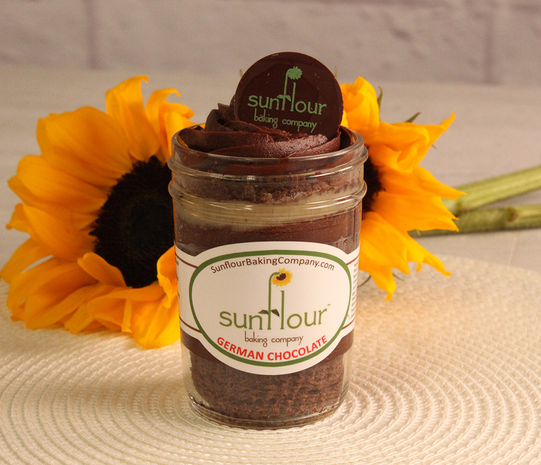 German Chocolate by Sunflour Baking Company