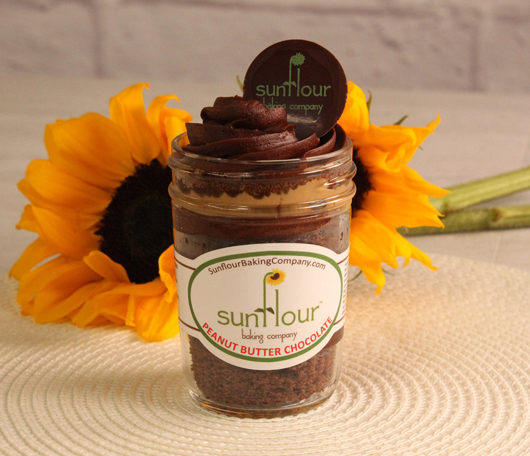 Peanut Butter Chocolate by Sunflour Baking Company