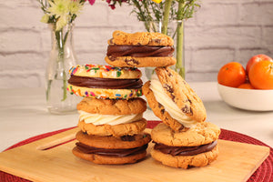 Cookie Sandwiches by Sunflour Baking Company