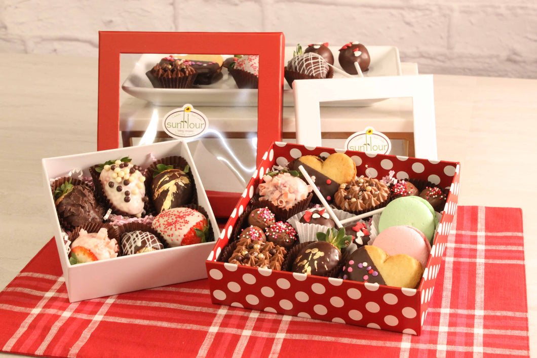 Valentine's Day Gift Box - Small (LOCAL PICKUP ONLY) by Sunflour Baking Company