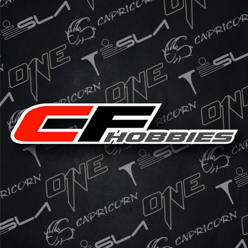 Follow us on all the socials!! Look for CF Hobbies online at soon at your local race tracks. Our company and site is brand new so pardon our dust as we continue to build our new RC home!!