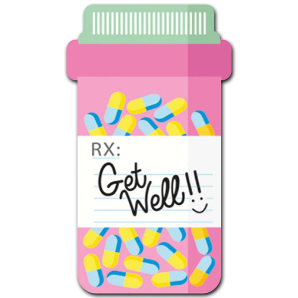 Get Well Pills Acrylic Interchangeable Button