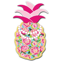 Pretty Pineapple Acrylic Interchangeable Button
