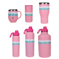 Simply Southern® Blush Pink Drinkware- Choice of Drinkware - Can Cooler, Water Bottle, Tumbler