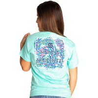 Simply Southern® Short Sleeve Abstract Design Logo