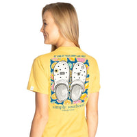Simply Southern® Short Sleeve Clogs As Long As You're Happy Who Cares